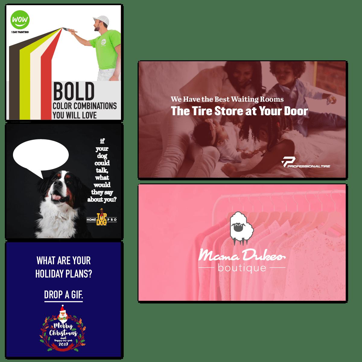 graphic design social media