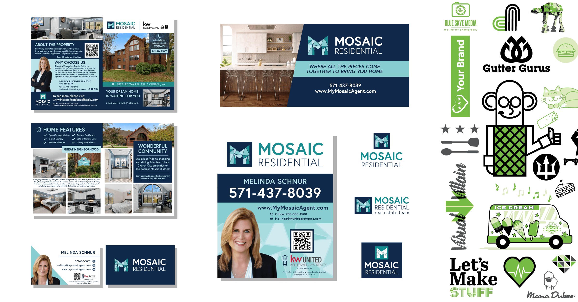 MNC Projects Mosaic Identity Package