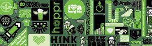 Metro Nova Creative header image with graphic design work logos and icons