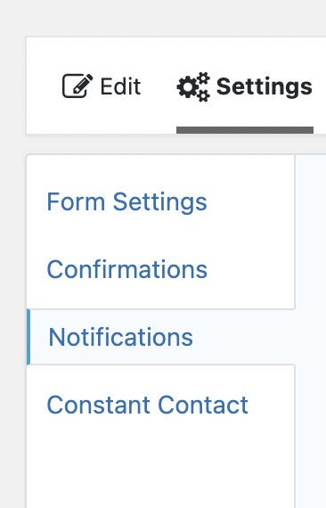 Gravity Forms Notifications
